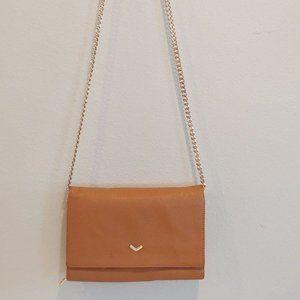Botkier Crossbody Wallet Gold Chain Bag